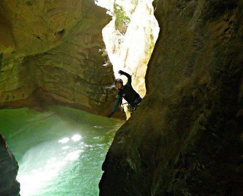 canyoning mascun sierra guara pyrenes