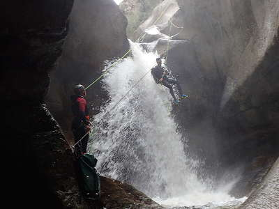 canyoning pyrennes orientales canigou