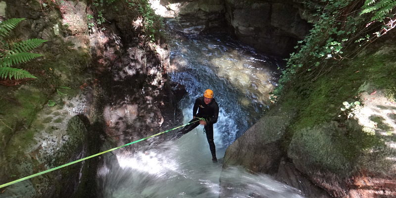 canyoning mouras luchon