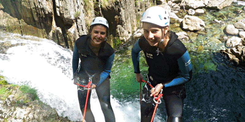 canyoning artigues ariege