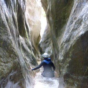 canyoning viu de llevata catalogne espagne