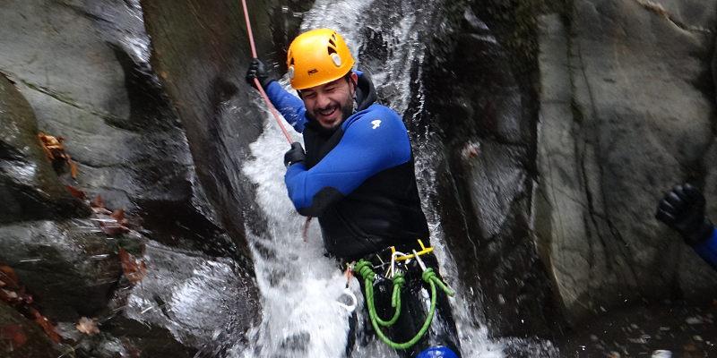canyoning arlos luchon pyrenees