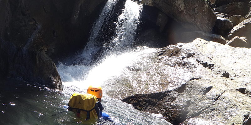 canyoning neste oo luchon pyrenees