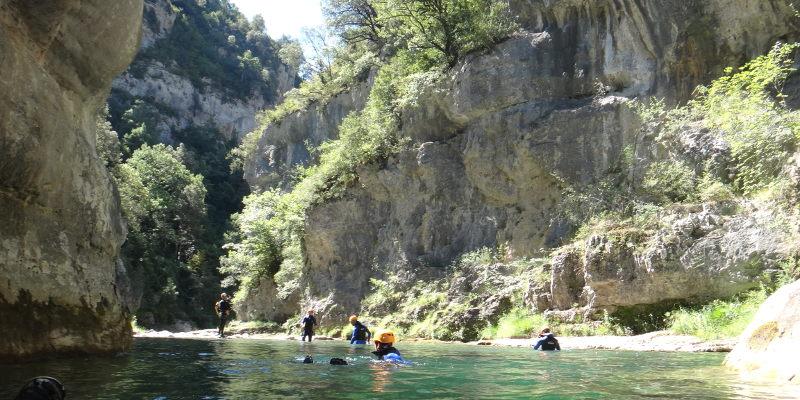 canyoning miraval mont perdu espagne aragon