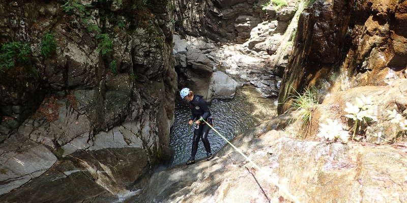 canyoning mont perdu trigoniero
