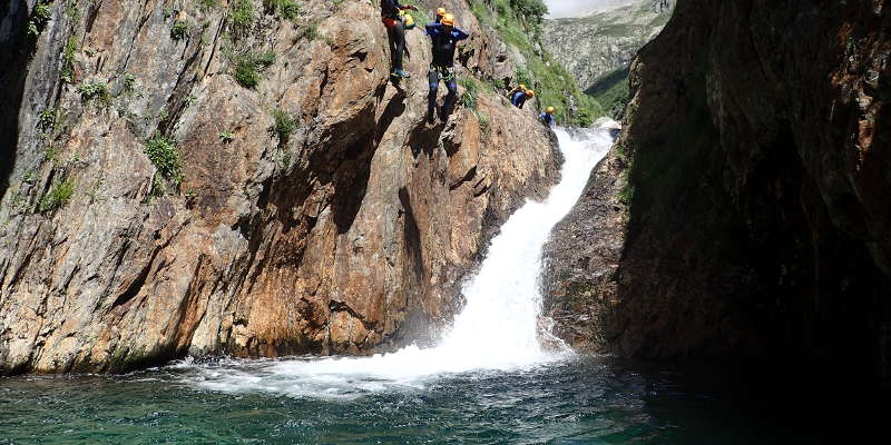 canyoning ariege artigues