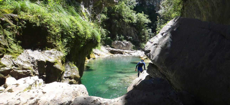 randonnee aquatique canyoning miraval mont perdu espagne aragon