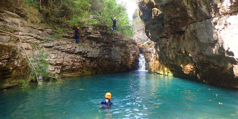 canyoning mont perdu metils viandico