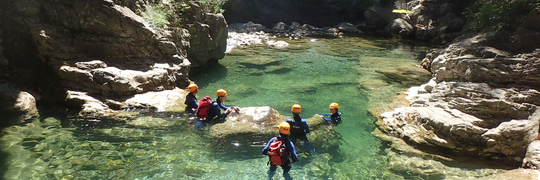 canyoning saint lary mont perdu